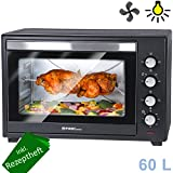 TZS First Austria - 60 Liter Mini-Backofen mit...